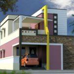 Model Rumah Tingkat Minimalis dengan Pemandangan Maksimal
