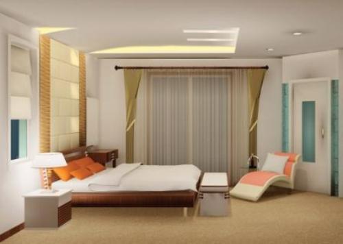 Model plafon rumah minimalis bahan gypsum