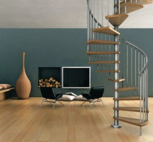 Tangga sirkular untuk rumah minimalis type 36