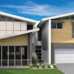 Desain Rumah Minimalis Modern 2 Lantai Bertema Kontemporer