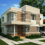 Warna-Warni Cat Untuk Desain Rumah Sederhana 2 Lantai