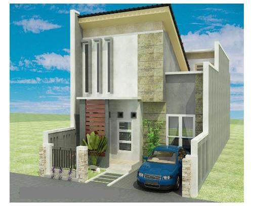 gambar rumah tampak depan 3 dimensi