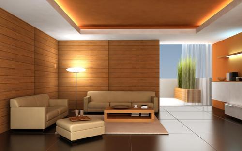 model plafon rumah minimalis berbahan gypsum