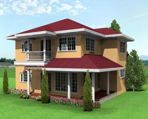 rumah minimalis 2 lantai klasik