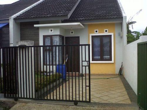 rumah minimalis type 21 modern