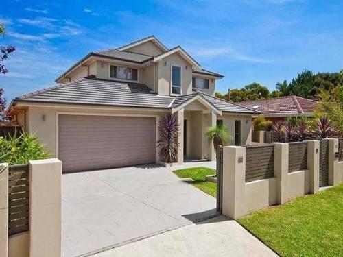 warna cat pagar rumah minimalis sesuai warna cat rumah