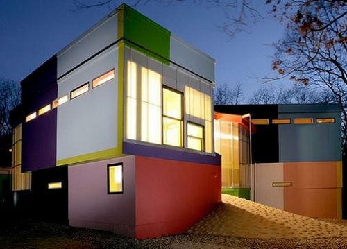 Cat eksterior rumah yang bagus dengan kombinasi warna