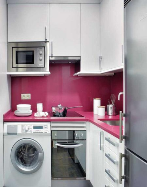 Contoh dapur mungil pada rumah type 36