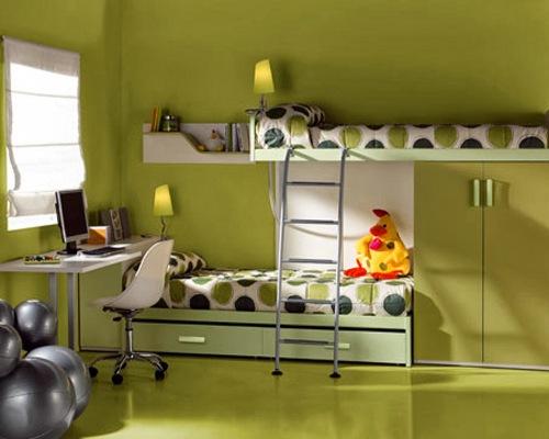 Dekorasi kamar anak laki-laki bernuansa minimalis