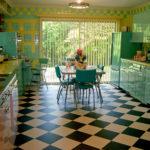 4 Tips Desain Interior Dapur Retro Style