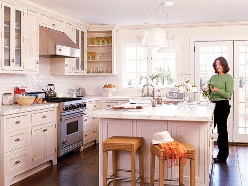 Interior dapur dengan peralatannya