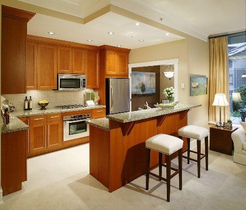 Interior dapur minimalis modern