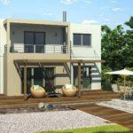 5 Contoh Gambar Rumah Minimalis Lantai 2 Modern