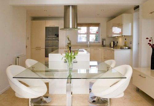 dapur rumah minimalis dengan open plan