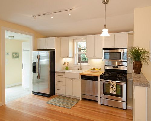 dapur rumah minimalis modern dan teratur