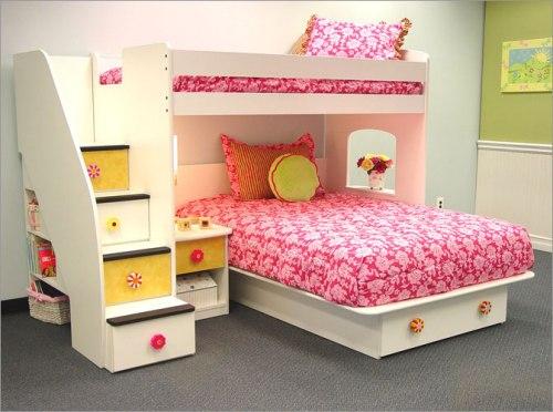 dekorasi kamar anak perempuan bernuansa ceria