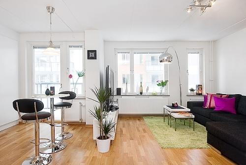 dekorasi rumah minimalis dengan akses cahaya yang cukup