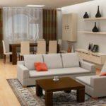 Desain Interior Ruang Tamu Minimalis Trendy