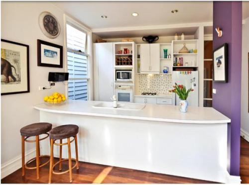 gambar dapur minimalis mungil namun rapi