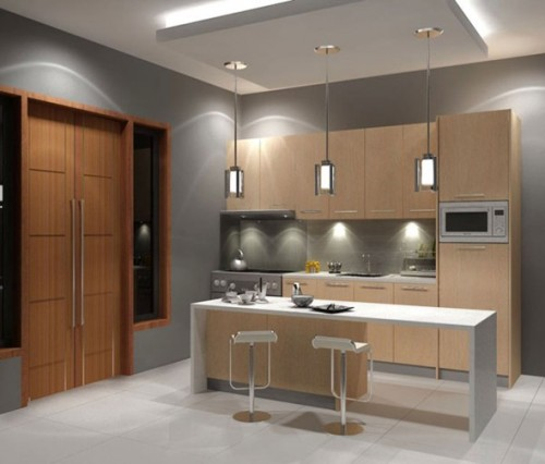 gambar dapur minimalis sederhana dan compact