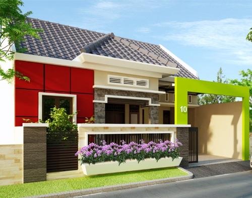 rumah minimalis modern type 70