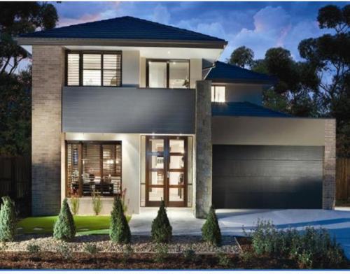 Contoh desain rumah minimalis sederhana 2 lantai