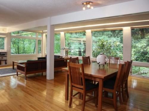 Contoh interior rumah dengan konsep terbuka