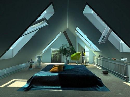 Loteng sebagai kamar tidur
