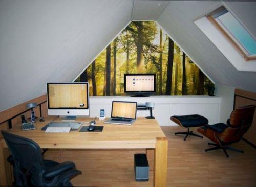Loteng sebagai ruang kerja