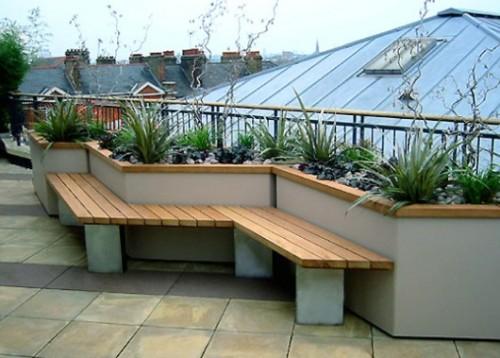 Rancangan atap rumah minimalis 2 lantai sebagai area santai