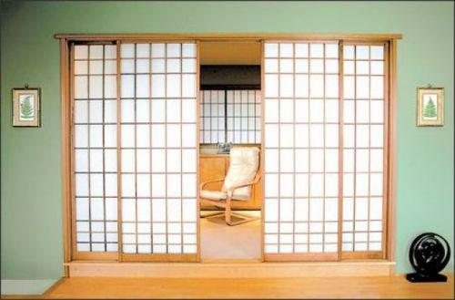 Sliding door model minimalis ala Jepang