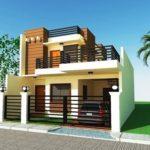Rumah Minimalis 2 Lantai Serba Guna dengan Rooftop