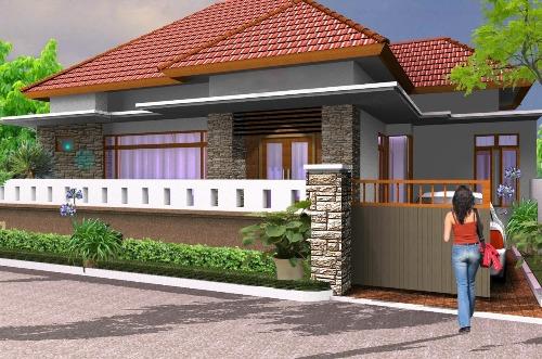 pagar rumah minimalis dan alami