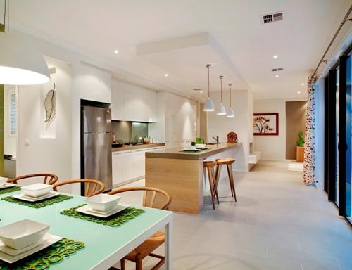 Contoh desain interior rumah tingkat minimalis sederhana