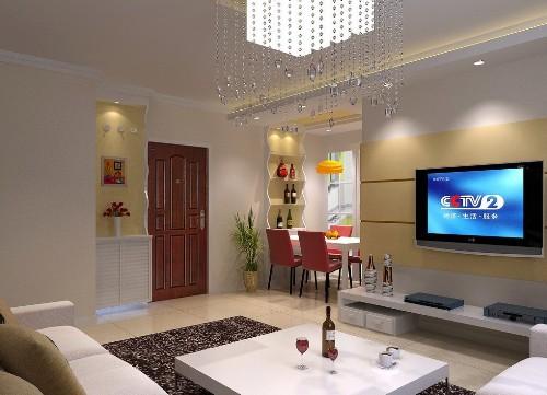 Contoh interior rumah minimalis sederhana type 36