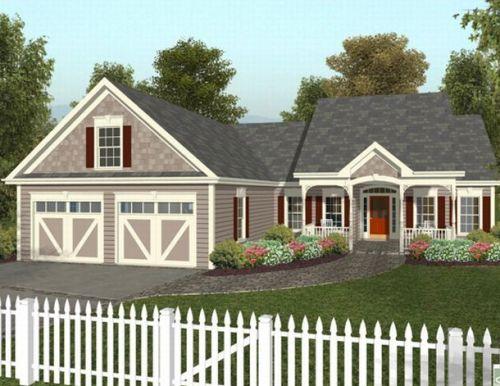 Model pagar rumah kayu bernuansa country