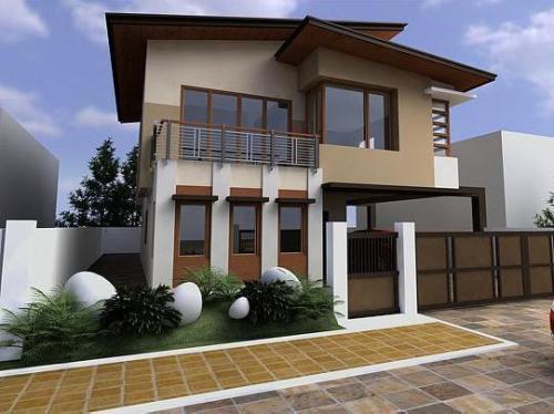 Model pagar rumah minimalis bernuansa kontemporer