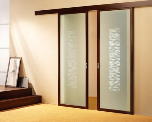 Model pintu geser pada rumah minimalis