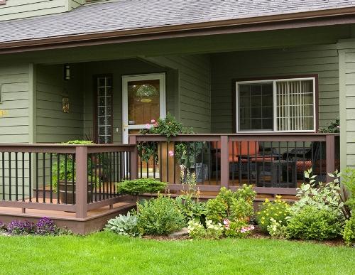 Model teras rumah minimalis bernuansa asri