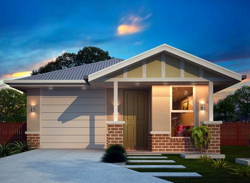 desain rumah minimalis type 45 modern dan artistik