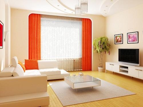 Contoh desain interior ruang keluarga rumah type 60 - Homenia