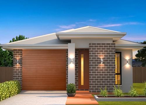 Desain rumah minimalis type 36 72 - Houseandland