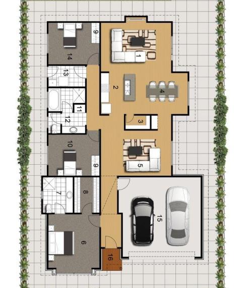 Interior desain rumah minimalis 1 lantai - Houseandland
