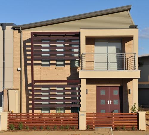 Model atap miring untuk rumah minimalis 2 lantai