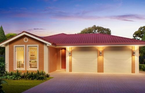 Model rumah minimalis 1 lantai 2 garasi