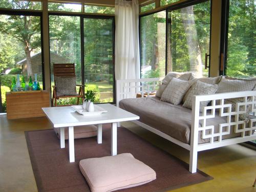 Rancangan Interior Ruang Tamu Rumah Kaca Minimalis - Younghouselove
