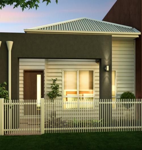Rumah kayu bernuansa klasik dan hijau natural