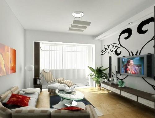 desain plafon rumah minimalis