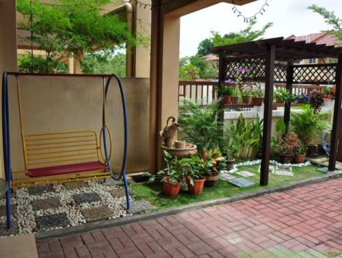 desain taman rumah minimalis modern