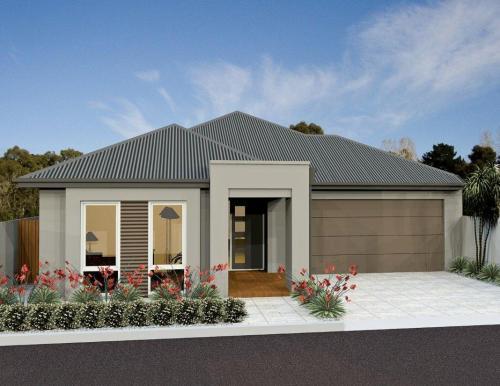 rumah minimalis tampak depan untuk keluarga kecil